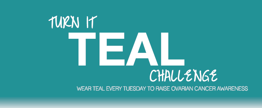 Our Official Logo And New Facebook Cover Photo Take Back Teal For Ovarian Cancer Awareness