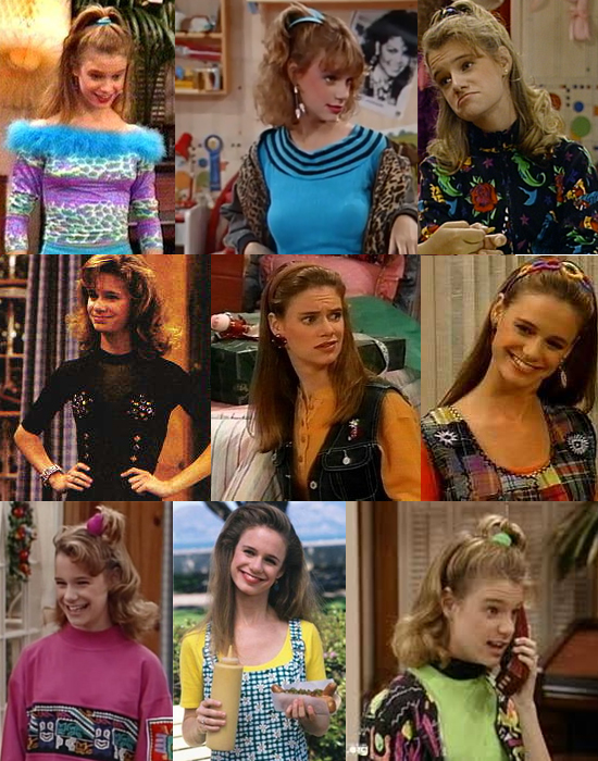 kimmy gibbler, fashion, what the frock?, teal