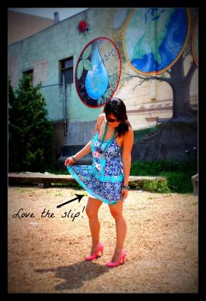 teal dress, northern liberties